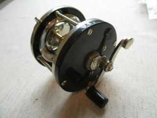 Early Edward Vom Hofe Small Size 1/0 Reel,  W/anti Reverse Brake