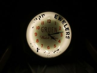 Vintage Dual Lite Neon Advertising Clock