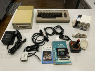 Vintage Commodore 64 Computer Floppy Disk Drive 1541 Bundle