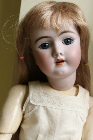 "24 "" Antique German Handwerck 69 - 12x Doll - Perfect Bisque Head"