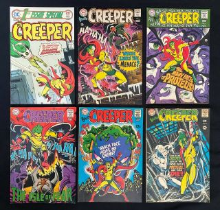 Creeper 1 - 5,  1st Issue Special 7 (dc 1968) Mid Grade Silver Age 12¢ Steve Ditko