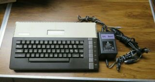 Vintage Atari 800xl Home Computer,  Power Supply,  Monitor Cable (5 Pin To Comp)