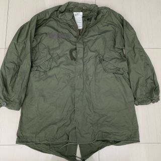 Vtg 1983 Us Army M65 Fish Tail Parka Shell.  Size Small.  Very Good.  Little.