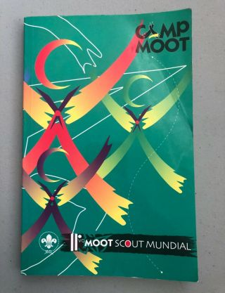 11th World Scout Moot,  Mexico 2000,  Participant Camp Moot Book
