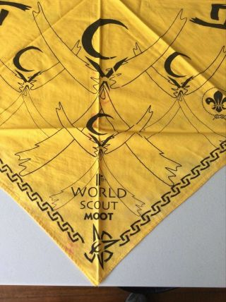 11th World Scout Moot,  Mexico 2000,  Participant Staff Neckerchief