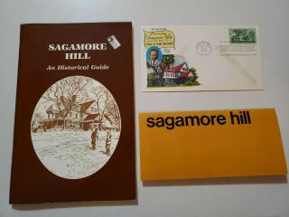 Sagamore Hill Guide,  Theodore Roosevelt,  Oyster Bay,  Ny. ,  First Issue Stamp