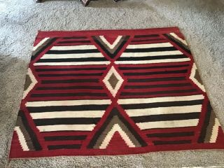 Early Navajo Chiefs Blanket
