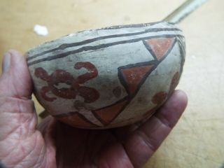 Very Old American Indian Pueblo Pottery Pot X Museum Piece Missing Piece