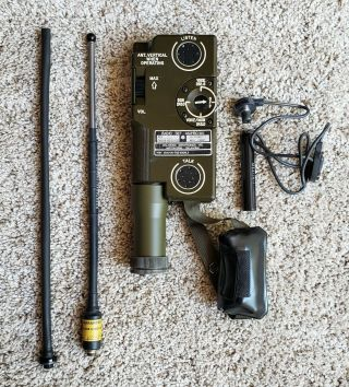 U.  S.  Military An/prc - 90 Survival Radio Set  - With Cr123 Adapter