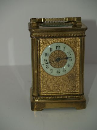 Tiffany & Co.  York Carriage Clock Running Made In France With Tool