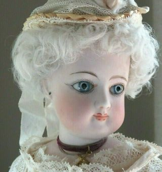 """16 """" Antique French Francois Gaultier Fashion Doll"""