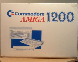 Commodore Amiga 1200 Computer - Vintage Rare - Except For Testing