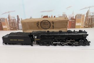 Vintage Prewar Lionel O Gauge No.  763e Hudson Steam Engine & 2226w Whistle Tender