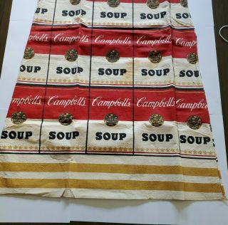 VTG 1960's CAMPBELL ' S SOUP The Souper Dress - Paper - Andy Warhol -. 2