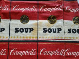 VTG 1960's CAMPBELL ' S SOUP The Souper Dress - Paper - Andy Warhol -. 3