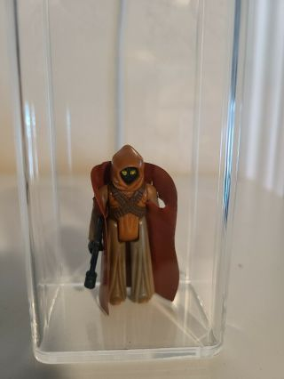 Vintage Star Wars Toltoys Vinyl Cape Jawa Rare
