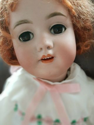 "22 "" Heinrich Handwerck Antique German Doll 109_11"