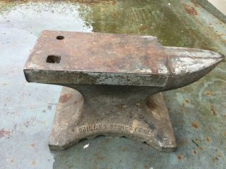 Vintage Antique Chilled Semi Steel 18 Lb Blacksmith Benchtop Jewlers Anvil