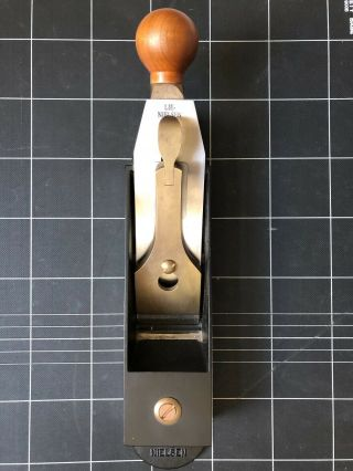 Lie - Nielsen No.  9 Iron Miter Plane With 2 Hot Dogs - Gently
