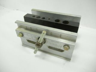 Dowl - It Self Centering Dowel Drill Guide Kit,  And Wood Box - Made In Usa I295