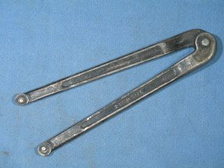 "Vintage Williams 482 2 "" Size Adjustable Face Spanner Wrench 1/8 "" Pin Diameter"
