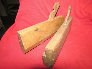 Antique Wood Molding Planes,  Mid 1800