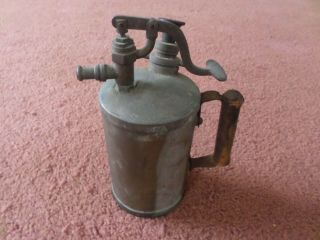 Antique Burmex Blow Torch 10 ""