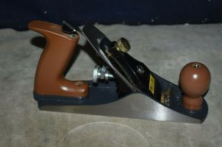 "Classic Wood Plane - 10 "" - Woodworking - Bottom - Buck Bros.  - No.  4"