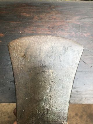 Vintage 4 Lb 190 X 120 Mm Axe Old Tool