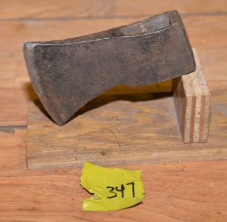 Collectible Early Axe Head Trade Embossed Vintage Blacksmith Trapping Tool 347