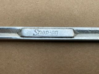 """Vintage Snap On 1/2 """" & 9/16 """" Open End Wrench Vs1618 Usa"""