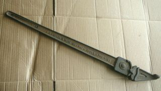 As&w American Steel & Wire Antique Cast Iron Barbed Wire Fence Stretcher Tool