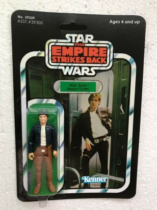 Kenner 1981 Vintage Han Solo Bespin On Empire Strikes Back 41 Back Card