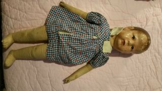 "18 "" Antique Kathe Kruse Doll 1"