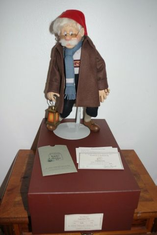 R.  John Wright Doll Geppetto Searches For Pinocchio