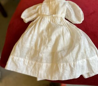 Gorgeous Antique Cotton Dress For French / German Bisque Doll Or Vintage Doll