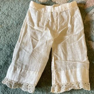 Gorgeous Antique Cotton Pantaloons For French / German Bisque Doll