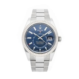 Pre - Rolex Sky - Dweller Blue Dial Mens Automatic Watch 326934 Coming Soon