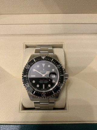Rolex Sea Dweller 43mm 50th Anniversary Red Letter Authentic Box And Papers