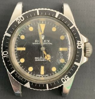 Vintage Rolex Submariner Automatic Men Watch Ref.  5513 With Papers
