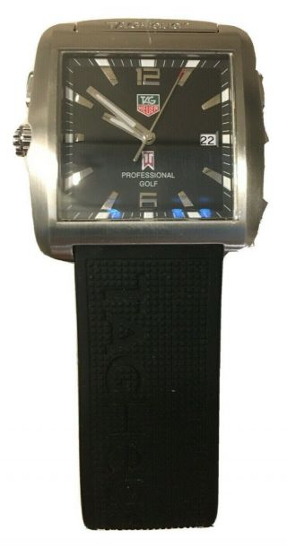 Tag Heuer Limited Edition Tiger Woods Golf Watch