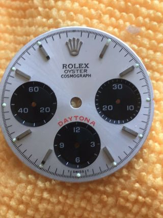 Vintage Rolex Oyster Daytona Cosmograph Silver Dial 6263.  6265,  Valjoux 727