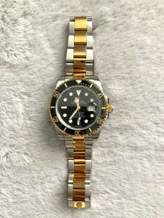 Rolex 18k Gold Submariner Men