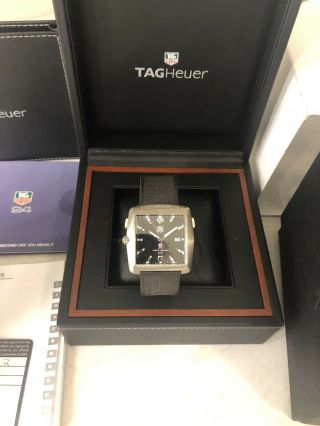 Tag Heuer Limited Edition Tiger Woods Signed Titanium Golf Watch