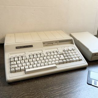 Vintage Tandy 1000 Hx Personal Computer 25 - 1053 W Disk Drive Power